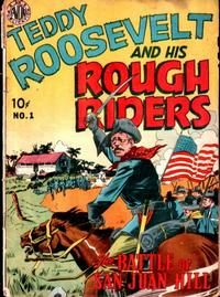 Cover Thumbnail for Teddy Roosevelt and His Rough Riders (Avon, 1950 series) #1