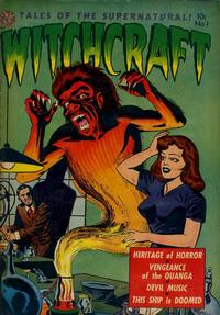 Cover Thumbnail for Witchcraft (Avon, 1952 series) #1