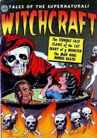 Cover Thumbnail for Witchcraft (Avon, 1952 series) #4