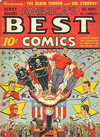 Cover Thumbnail for America's Best Comics (Pines, 1942 series) #v1#1 (1)