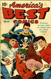 Cover Thumbnail for America's Best Comics (Pines, 1942 series) #20