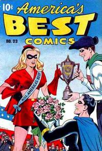 Cover Thumbnail for America's Best Comics (Pines, 1942 series) #23
