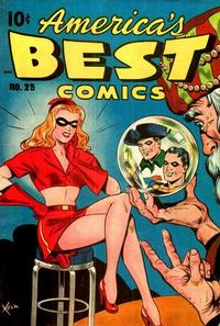 Cover Thumbnail for America's Best Comics (Pines, 1942 series) #25