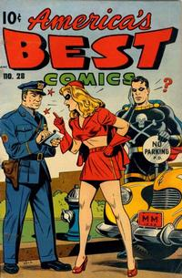 Cover Thumbnail for America's Best Comics (Pines, 1942 series) #28