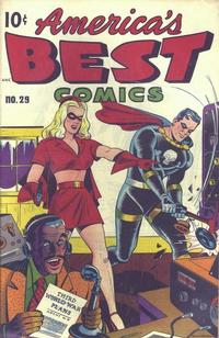 Cover Thumbnail for America's Best Comics (Pines, 1942 series) #29