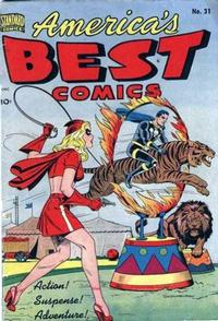 Cover Thumbnail for America's Best Comics (Pines, 1942 series) #31