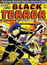 Cover Thumbnail for The Black Terror (Pines, 1942 series) #v1#1 (1)