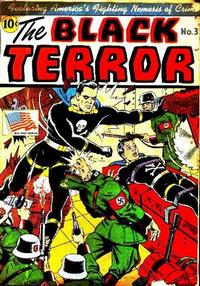 Cover Thumbnail for The Black Terror (Pines, 1942 series) #3