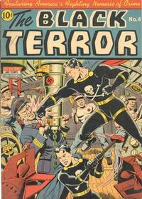 Cover Thumbnail for The Black Terror (Pines, 1942 series) #v2#1 (4)