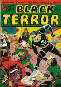 Cover Thumbnail for The Black Terror (Pines, 1942 series) #5