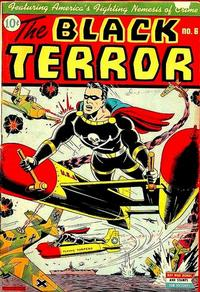 Cover Thumbnail for The Black Terror (Pines, 1942 series) #6