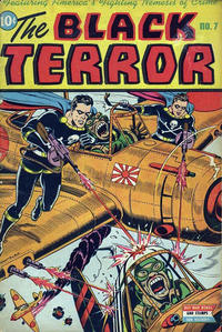 Cover Thumbnail for The Black Terror (Pines, 1942 series) #7