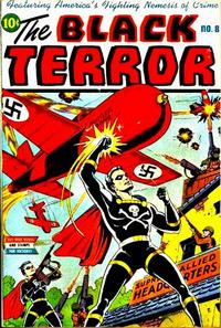 Cover Thumbnail for The Black Terror (Pines, 1942 series) #8