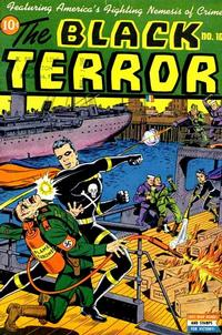 Cover Thumbnail for The Black Terror (Pines, 1942 series) #10