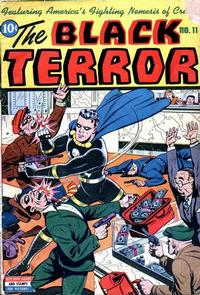 Cover Thumbnail for The Black Terror (Pines, 1942 series) #11