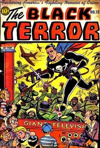 Cover Thumbnail for The Black Terror (Pines, 1942 series) #12