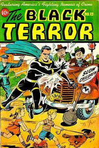 Cover Thumbnail for The Black Terror (Pines, 1942 series) #13
