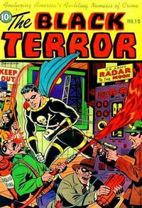 Cover Thumbnail for The Black Terror (Pines, 1942 series) #15