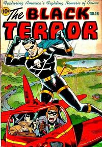 Cover for The Black Terror (Pines, 1942 series) #18