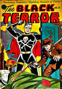 Cover Thumbnail for The Black Terror (Pines, 1942 series) #19