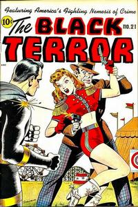 Cover Thumbnail for The Black Terror (Pines, 1942 series) #21