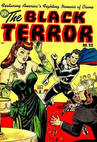 Cover Thumbnail for The Black Terror (Pines, 1942 series) #22