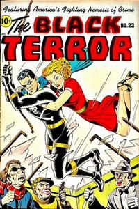 Cover Thumbnail for The Black Terror (Pines, 1942 series) #23