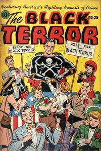 Cover Thumbnail for The Black Terror (Pines, 1942 series) #25
