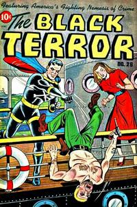 Cover Thumbnail for The Black Terror (Pines, 1942 series) #26