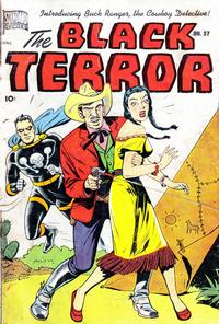 Cover Thumbnail for The Black Terror (Pines, 1942 series) #27