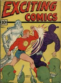 Cover Thumbnail for Exciting Comics (Pines, 1940 series) #v1#1 (1)