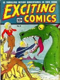 Cover Thumbnail for Exciting Comics (Pines, 1940 series) #v2#1 (4)