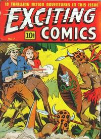 Cover Thumbnail for Exciting Comics (Pines, 1940 series) #v3#1 (7)