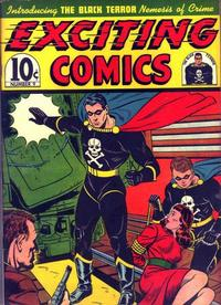 Cover Thumbnail for Exciting Comics (Pines, 1940 series) #v3#3 (9)