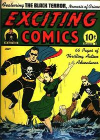 Cover Thumbnail for Exciting Comics (Pines, 1940 series) #v4#2 (11)