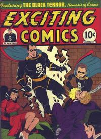 Cover Thumbnail for Exciting Comics (Pines, 1940 series) #v4#3 (12)
