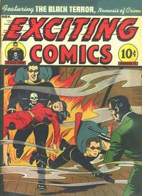 Cover Thumbnail for Exciting Comics (Pines, 1940 series) #v5#2 (14)