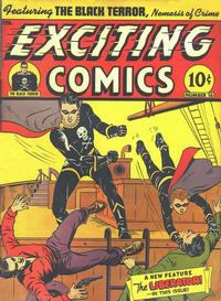Cover Thumbnail for Exciting Comics (Pines, 1940 series) #v6#1 (16)