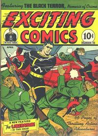 Cover Thumbnail for Exciting Comics (Pines, 1940 series) #v6#3 (18)