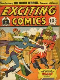 Cover Thumbnail for Exciting Comics (Pines, 1940 series) #22