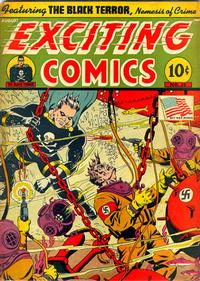 Cover Thumbnail for Exciting Comics (Pines, 1940 series) #28