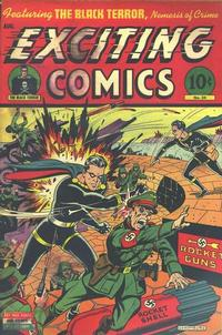 Cover Thumbnail for Exciting Comics (Pines, 1940 series) #34