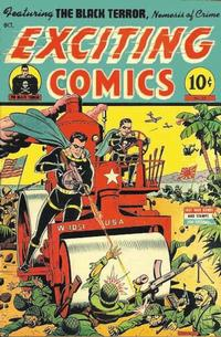 Cover Thumbnail for Exciting Comics (Pines, 1940 series) #35