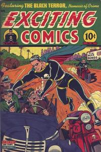 Cover Thumbnail for Exciting Comics (Pines, 1940 series) #38
