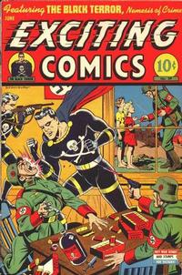 Cover Thumbnail for Exciting Comics (Pines, 1940 series) #39