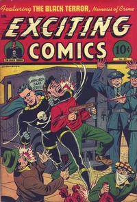 Cover Thumbnail for Exciting Comics (Pines, 1940 series) #43