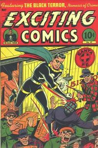 Cover Thumbnail for Exciting Comics (Pines, 1940 series) #47