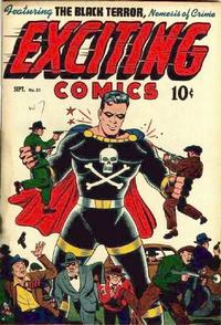 Cover Thumbnail for Exciting Comics (Pines, 1940 series) #51