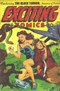 Cover Thumbnail for Exciting Comics (Pines, 1940 series) #56