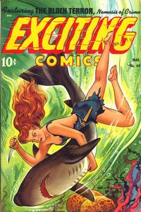 Cover Thumbnail for Exciting Comics (Pines, 1940 series) #60